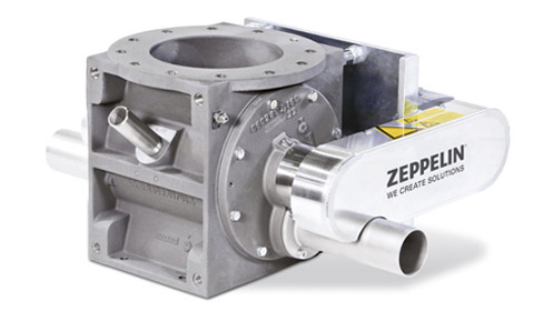 D-type rotary feeder