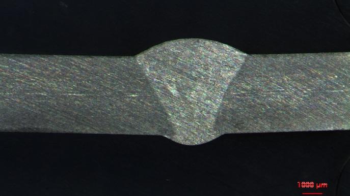 Metallurgische Untersuchung