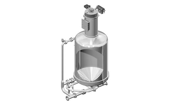 PM pneumatic mixer
