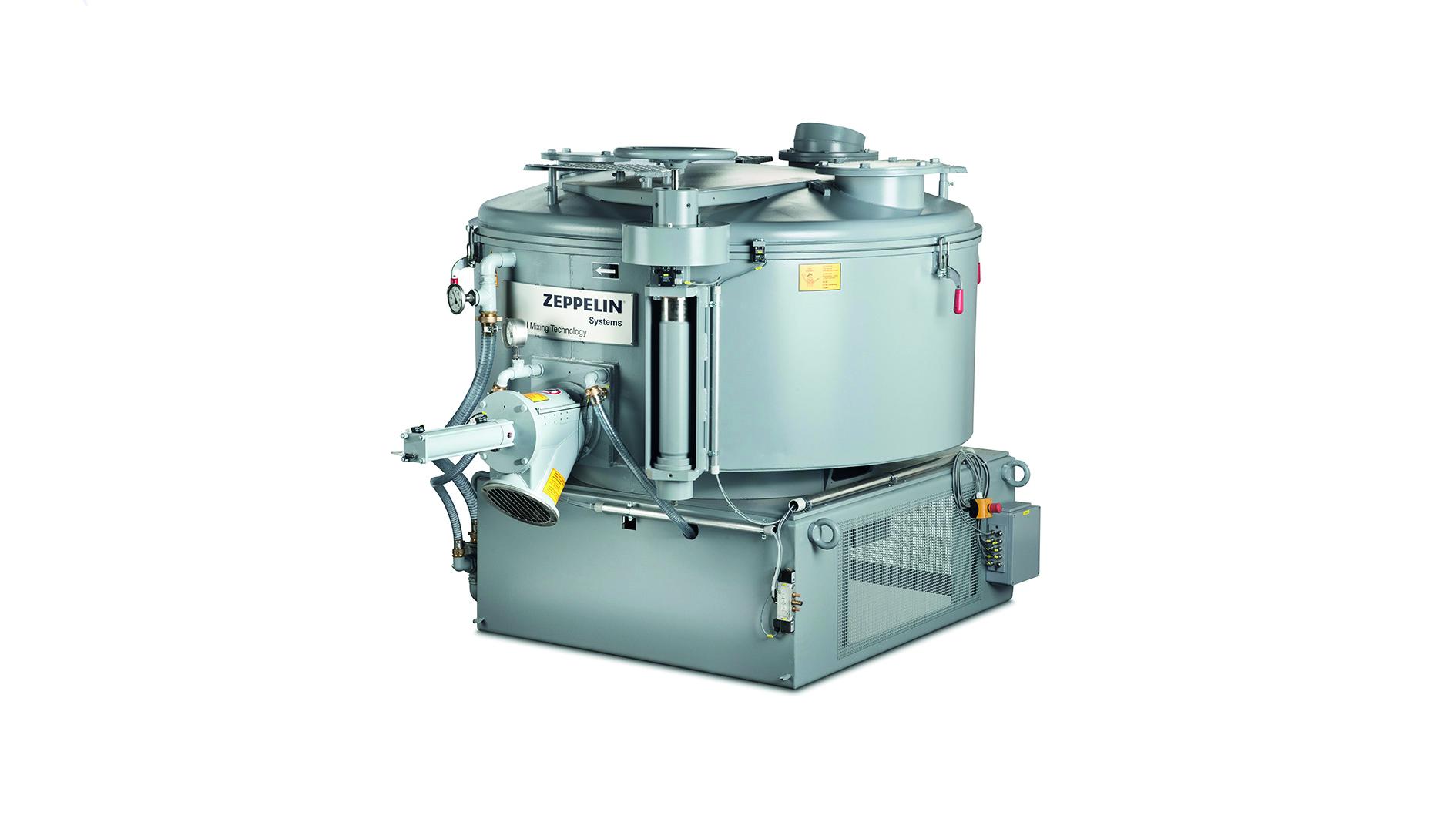 KM vertical cooling mixer