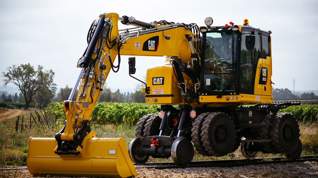 rail-road excavators