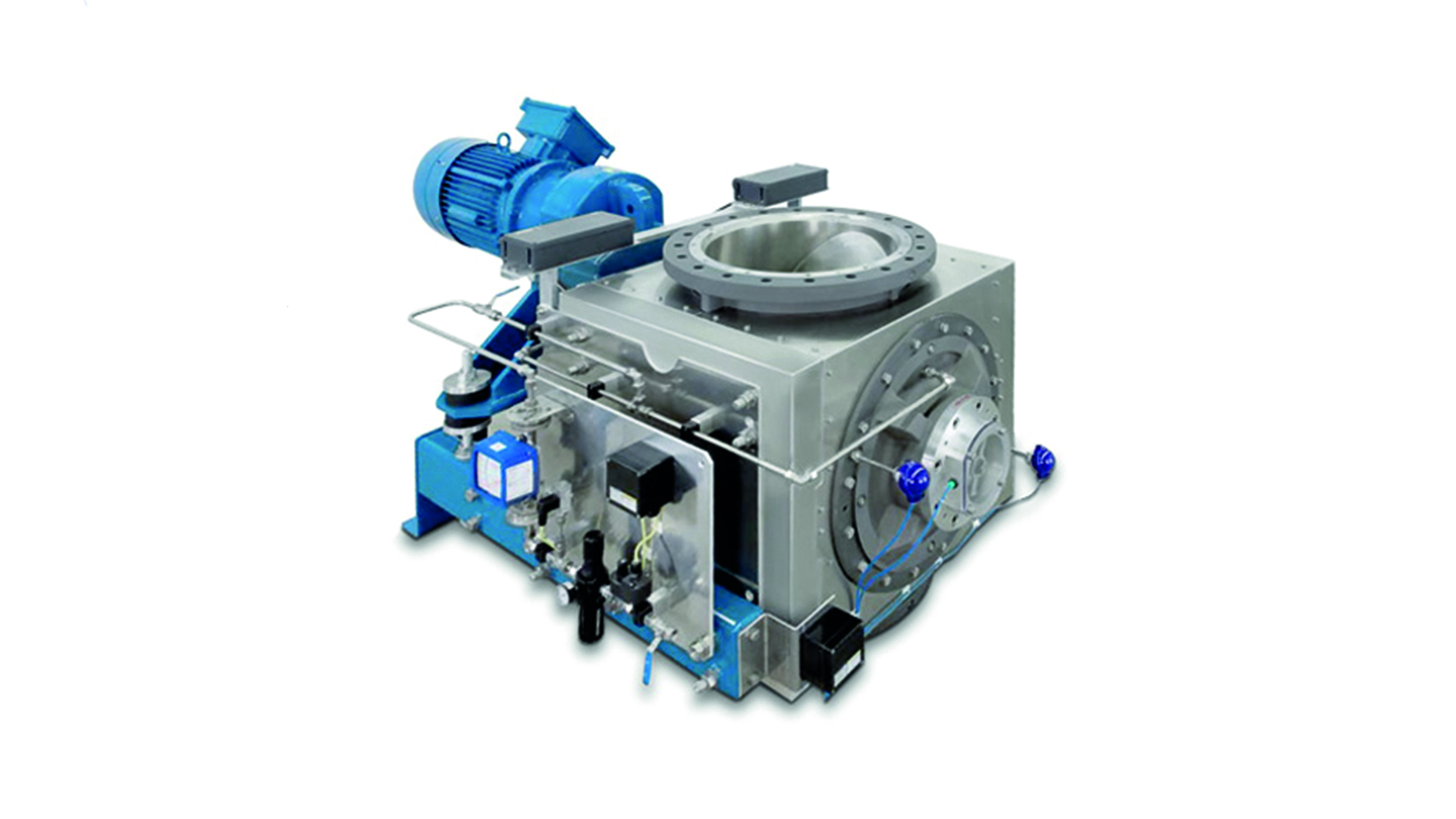 PFC process rotary feeder